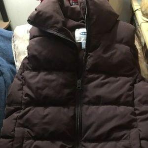 Old Navy dark brown vest sp